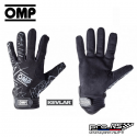 Gants mécano OMP EVO noir en Kevlar®