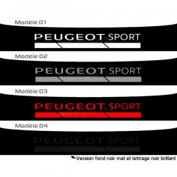 Bandeau pare soleil Peugeot Sport D