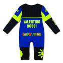 Pyjama bebe VALENTINO ROSSI Yamaha Replica bleu