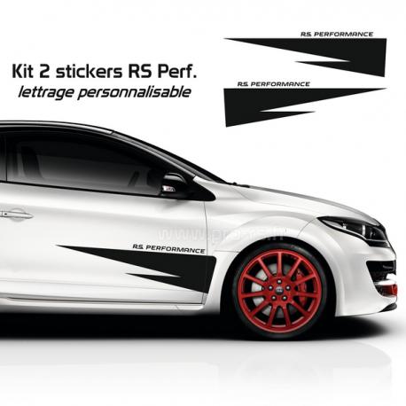 Kit 6 Stickers Citroen Racing