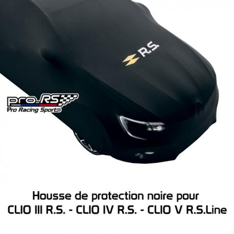 Housse de protection noire pour CLIO III R.S. et CLIO IV R.S. Renault Sport
