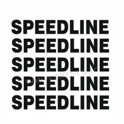 Kit 5 Stickers de jante Speedline 2