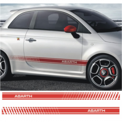Kit Stickers Abarth 500