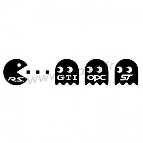 Sticker Pac Man RS