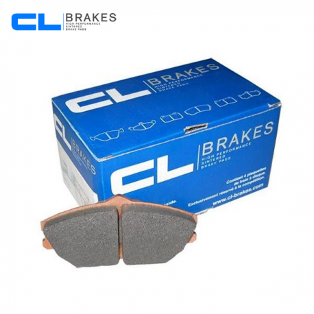 Plaquettes de frein CL BRAKES RC6 pour RENAULT Clio 3 RS avant