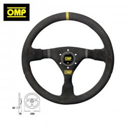 Volant OMP WRC Peau Retournée