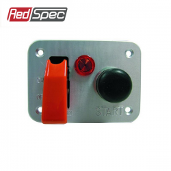 Panneau Starter modèle alu REDSPEC