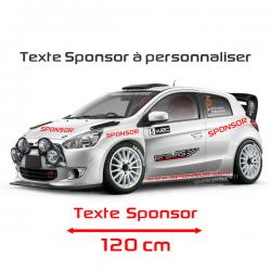 Lettrage Sponsor 30cm