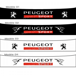 Bandeau pare soleil Peugeot Sport E