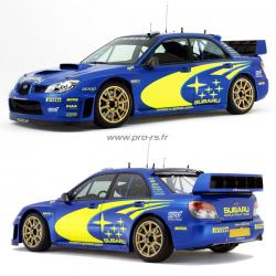 Kit déco Subaru WRC Peter Solberg 2005
