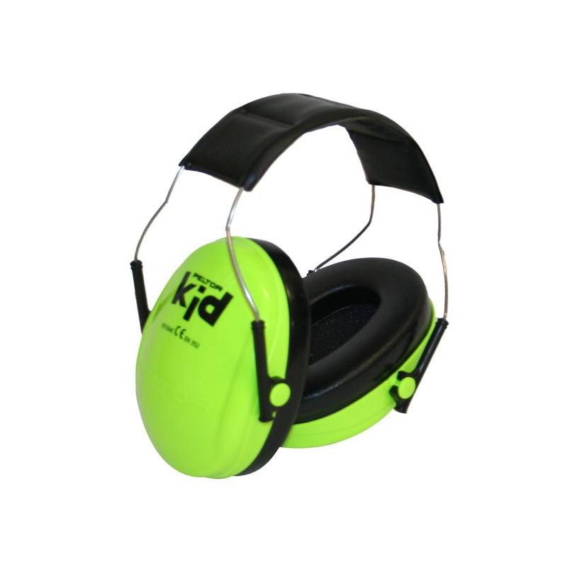 casque anti bruit peltor vert pour enfant 27 db. Black Bedroom Furniture Sets. Home Design Ideas