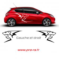 Kit 2 Lion Peugeot Sport P1