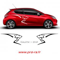 Kit 2 Lion Peugeot Sport P2