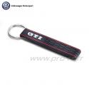 Porte clés VOLKSWAGEN GTI noir et rouge - Sportswear