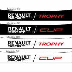 Bandeau pare soleil Renault Sport F