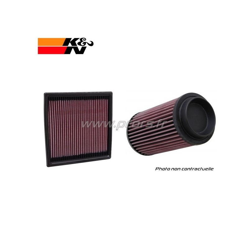 filtre air k n clio 3 rs 197 203cv 33 2927. Black Bedroom Furniture Sets. Home Design Ideas